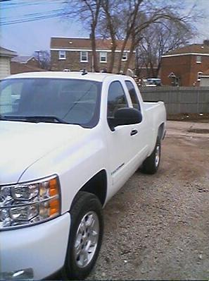 white chicago chevrolet truck mark chevy silverado 1500 07 2007 markccc