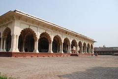Agra Fort (Brajeshwar) Tags: plaza india building columns agra historical monuments redfort fortrouge agrafort lalqila arched