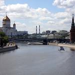 Moscow: Volga River, Kremlin and