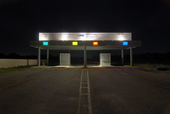 CLOSED (Noel Kerns) Tags: abandoned night sanantonio closed texas theatre drivein mission amazingtalent