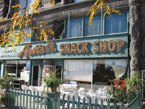 Artist's Snack Shop--Chicago