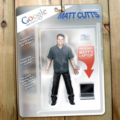 Matt Cutts Actionfigur