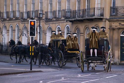 La Duquesa carroza semáforo