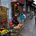 Fruit monger in Lijiang
