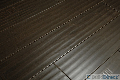 Dark Handscraped Hardwood Flooring
