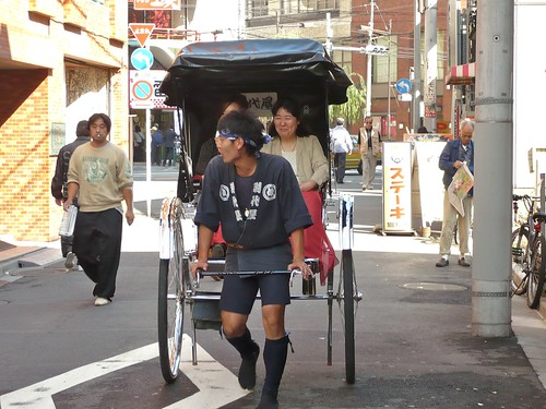 Another way of visiting Asakusa
