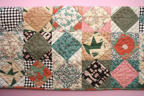 patchwork quilt by rosa pomar