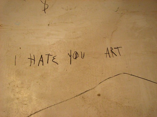 I Hate You Art by Felix Curto