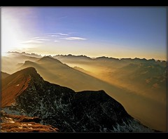Niesen Sunset (Izakigur) Tags: mountain mountains