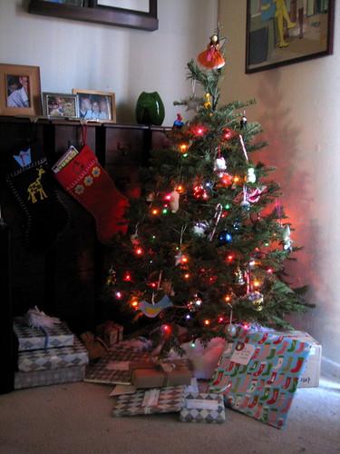 cozy christmas corner