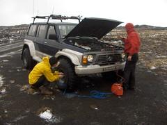 Fer  Dalakofa. (SiggiH) Tags: snow iceland nissan patrol jepp fjallabak dalakofi