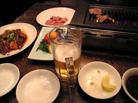 焼肉『やあむ』-テーブル