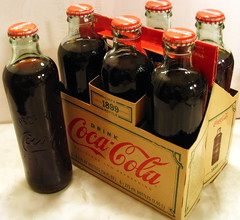 Replica 1899 Coke Bottles (SeeMidTN.com (aka Brent)) Tags: bottle cola coke cokebottle soda cocacola sixpack softdrink sodapop 6pack 1899 bmok