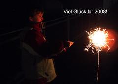 Happy New Year (dolorix) Tags: newyear 2008 neujahrswnsche