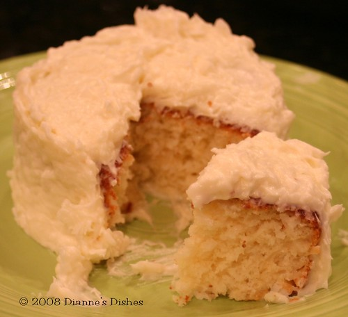 Coconut Cake with Cocnut Frosting