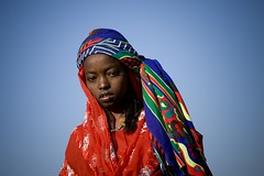 Afar girl, Danakil, Ethiopia (Eric Lafforgue) Tags: africa portrait people beauty face horizontal photography women day veiled veil african muslim islam culture tribal beautifulwoman females copyspace tradition ethiopia tribe ethnic beautifulpeople oneperson traditionalculture hornofafrica individuality ethnology headandshoulders ethiopian afar eastafrica vibrantcolor traditionalclothing realpeople colorimage lookingatcamera teenagersonly traveldestination danakil 1people pastoralist indigenousculture mg1552 africanculture onegirlonly aidelkebir asaita assayta africantribalculture