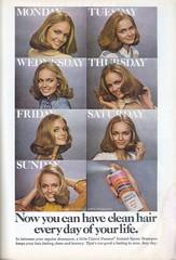 Vintage Pssst Shampoo (twitchery) Tags: vintage ads shampoo 80s 70s aerosol vintageads vintagebeauty
