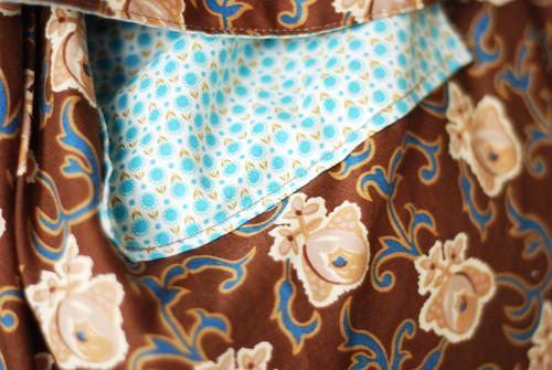 clashing fabrics