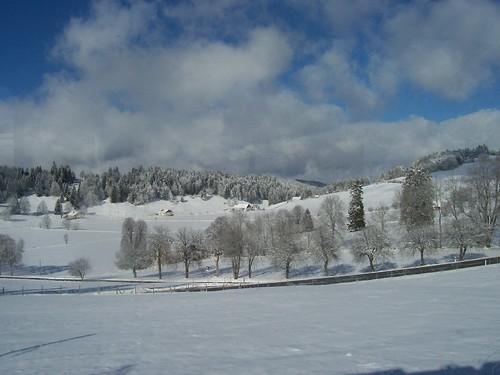 The Jura under the snow