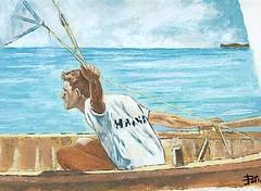 Vela Latina (cicipeis) Tags: sardegna costa art marina barca mare sardinia arte natura quadro cielo luci latina vela piscinas spiaggia luce cici paesaggio arbus artista olio nudo alghero dipinto pittore gozzi peis capocaccia montevecchio guspini velalatina colourartawards cicipeis