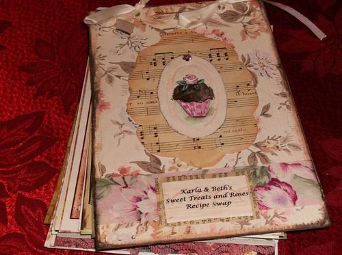 Sweet Treats and Roses Recipe Swap Book