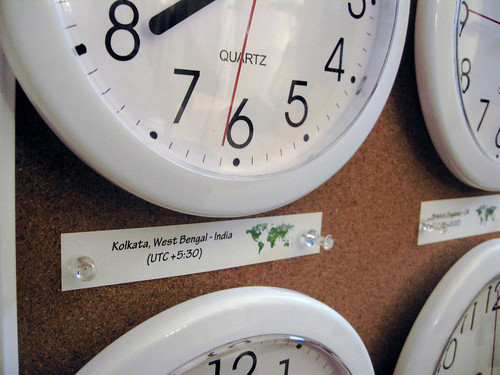 Wall Clocks Detail