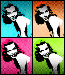 MaRiLyN 2 (SwEeTcHy) Tags: pink orange verde green marilyn rosa pop popart warhol naranja damncool