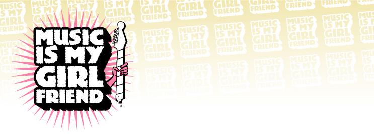 Fondo para el blog de Music Is My Girlfriend