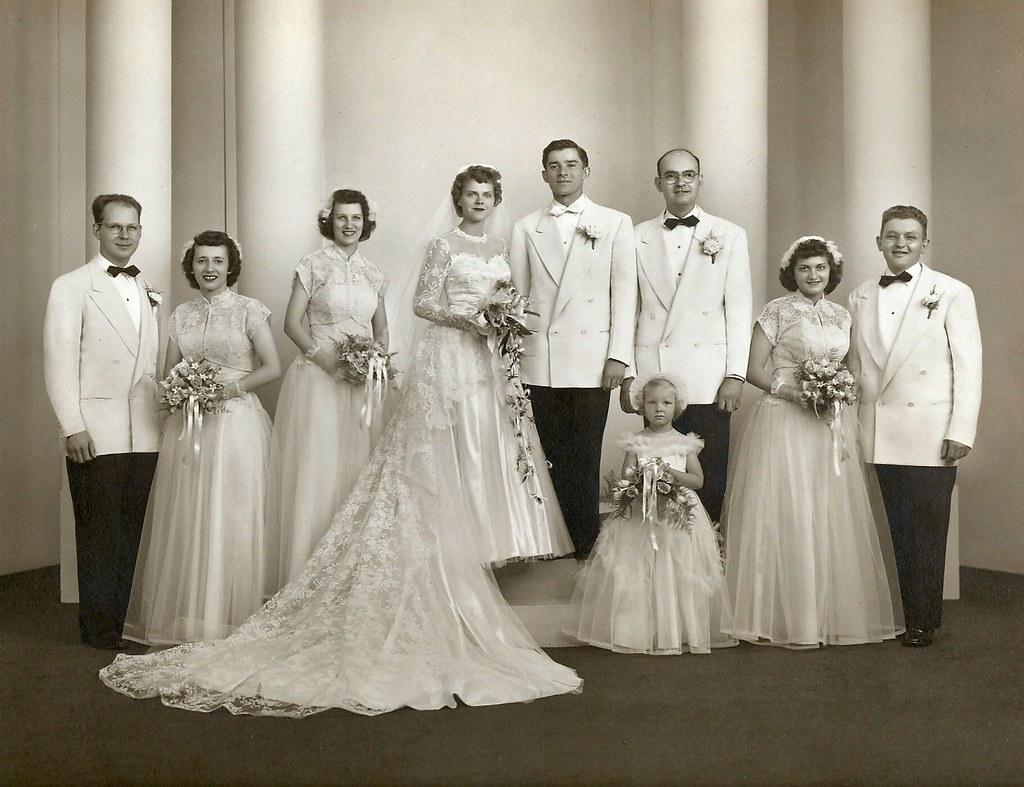 An American Wedding Photo