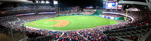 Nationals Park - 1st Base Line