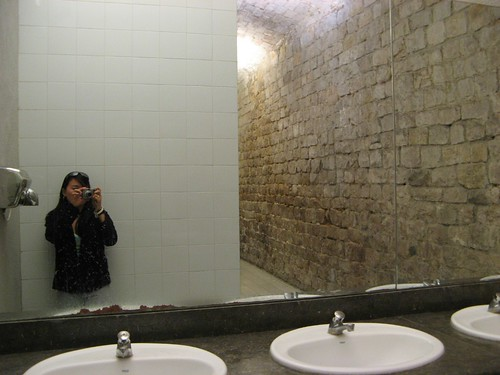 cobbler walls for bathrooms