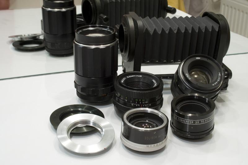 Objectifs et accessoires M42