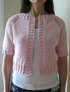 Ravelry: Cropped Raglan Sweater pattern by Lion Brand Yarn