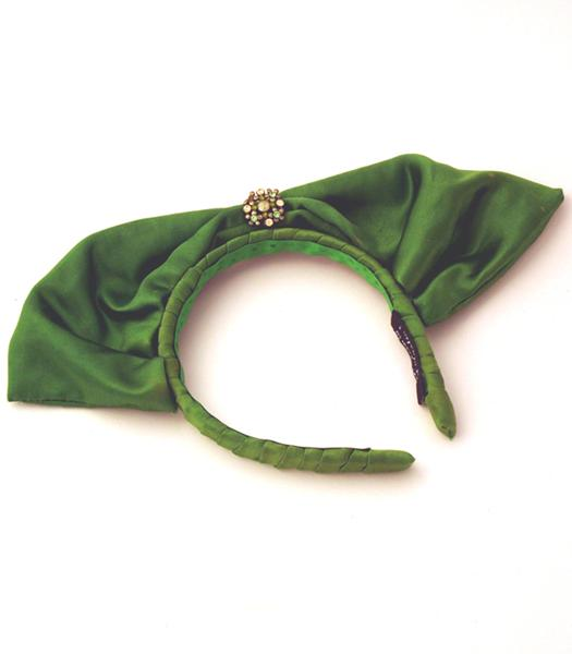 Bow hair band fascinator 1