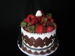 Gluten Free Strawberry Ganache by Kathy Jagger