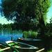 Ruderboote am Weßlinger See