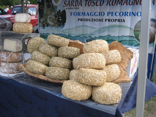 Pecorino display