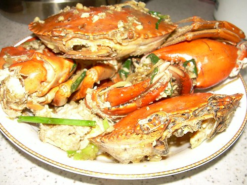 stir fried crabs