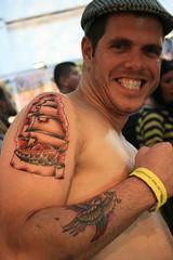 III London International Tattoo Convention (Ana Franke) Tags: uk people london art tattoo ink tattooconvention bodyart snappy 2007 tatuagem snappytattooman wwwmyspacecomsnappytattooman
