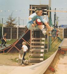 Paul. Mini-ramp, Rom Skatepark (luns_spluctrum) Tags: film skateboarding skateboard zenit romford romskatepark