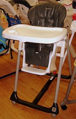 peg perego leatherette high chair