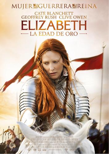 Cate Blanchett es la reina: Póster y trailer de 'Elizabeth: La edad de oro'