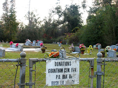 Grantham Cemetery - Bush, LA - November 12, 2007