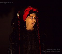 Lene Lovich at Drop Dead Prague 2007