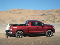 Toyota Tundra sand dunes