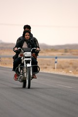 Motorcycle driver woman (Dr. Hendi) Tags: road trip travel portrait people woman motion me way myself persian women day driving iran motorcycle driver   persiangulf        siamak    anoosh  behbahan      doctorhendii