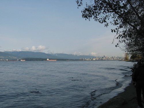 Downtown Vancouver From Spanish Banks