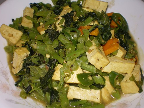 indian style spinach