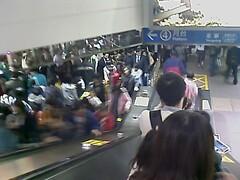 Taipei MRT。It's time to go home 3/6