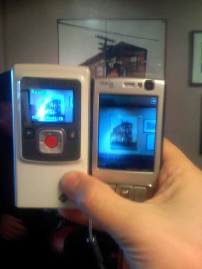 Flip Video Camera vs. Nokia N95